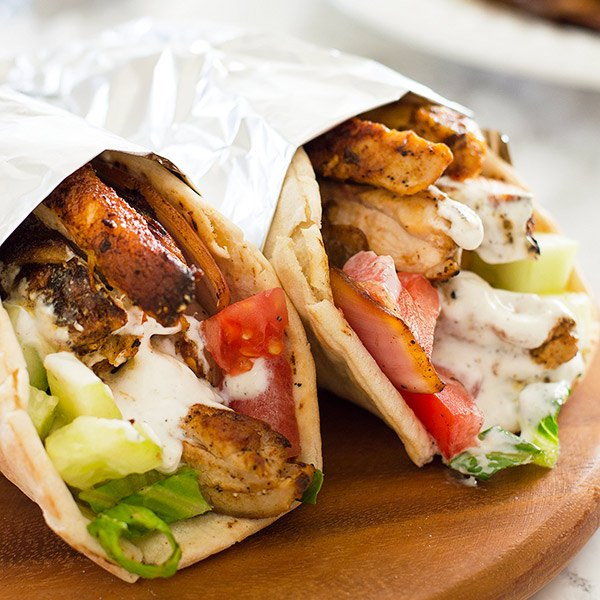 Chicken Roll Shawarma